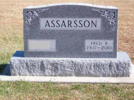 ASSARSSON, FRED R. - Brown County, Nebraska | FRED R. ASSARSSON - Nebraska Gravestone Photos