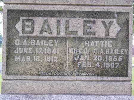 BAILEY, HATTIE - Brown County, Nebraska | HATTIE BAILEY - Nebraska Gravestone Photos