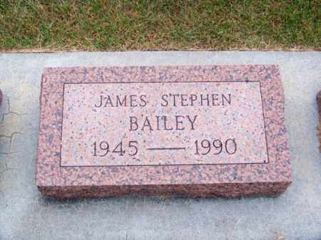 BAILEY, JAMES STEPHEN - Brown County, Nebraska | JAMES STEPHEN BAILEY - Nebraska Gravestone Photos