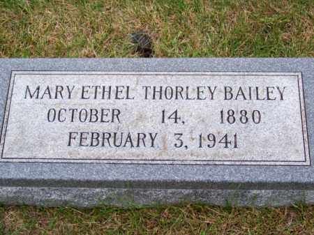 BAILEY, MARY ETHEL - Brown County, Nebraska | MARY ETHEL BAILEY - Nebraska Gravestone Photos