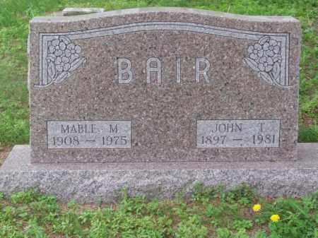 BAIR, MABLE M. - Brown County, Nebraska   MABLE M. BAIR - Nebraska Gravestone Photos