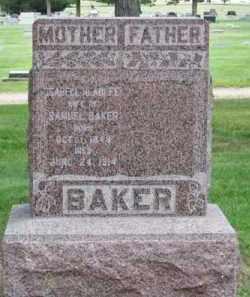 BAKER, ISABELL - Brown County, Nebraska | ISABELL BAKER - Nebraska Gravestone Photos