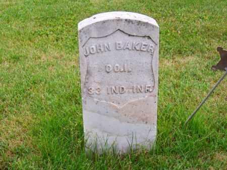 BAKER, JOHN - Brown County, Nebraska | JOHN BAKER - Nebraska Gravestone Photos