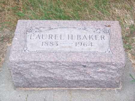 BAKER, LAUREL H. - Brown County, Nebraska | LAUREL H. BAKER - Nebraska Gravestone Photos