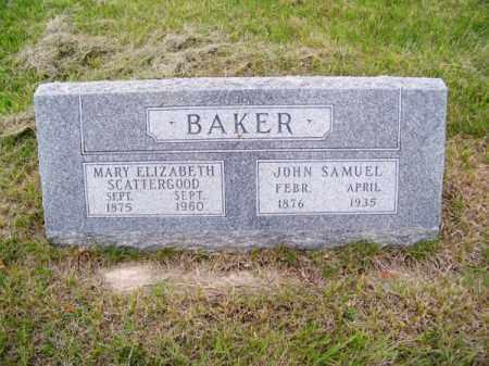 BAKER, JOHN SAMUEL - Brown County, Nebraska | JOHN SAMUEL BAKER - Nebraska Gravestone Photos
