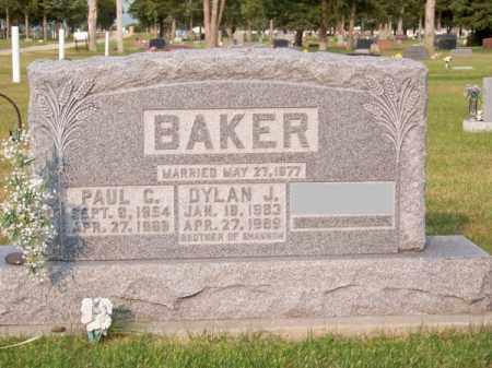 BAKER, DYLAN J. - Brown County, Nebraska   DYLAN J. BAKER - Nebraska Gravestone Photos