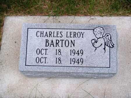BARTON, CHARLES LEROY - Brown County, Nebraska   CHARLES LEROY BARTON - Nebraska Gravestone Photos