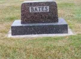 BATES, FAMILY - Brown County, Nebraska   FAMILY BATES - Nebraska Gravestone Photos