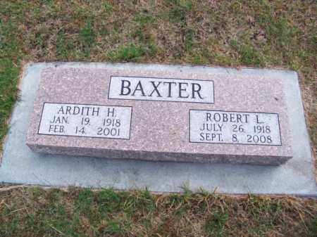 BAXTER, ROBERT L. - Brown County, Nebraska | ROBERT L. BAXTER - Nebraska Gravestone Photos
