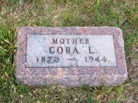 BAXTER, CORA L. - Brown County, Nebraska | CORA L. BAXTER - Nebraska Gravestone Photos