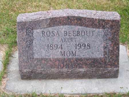 BEEBOUT, ROSA - Brown County, Nebraska | ROSA BEEBOUT - Nebraska Gravestone Photos