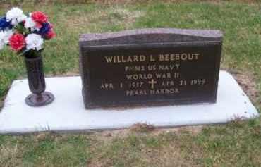 BEEBOUT, WILLARD L. - Brown County, Nebraska | WILLARD L. BEEBOUT - Nebraska Gravestone Photos