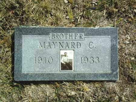 BEED, MAYNARD - Brown County, Nebraska   MAYNARD BEED - Nebraska Gravestone Photos