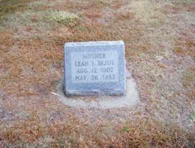 BEJOT, LEAH I. - Brown County, Nebraska | LEAH I. BEJOT - Nebraska Gravestone Photos