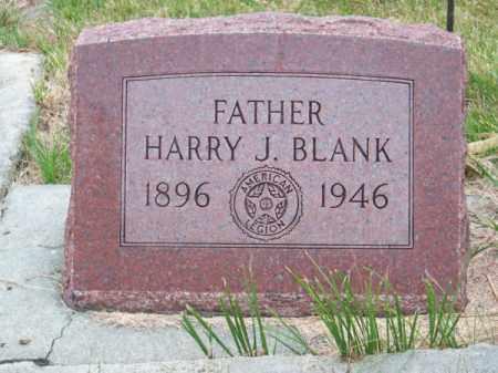 BLANK, HARRY J. - Brown County, Nebraska   HARRY J. BLANK - Nebraska Gravestone Photos