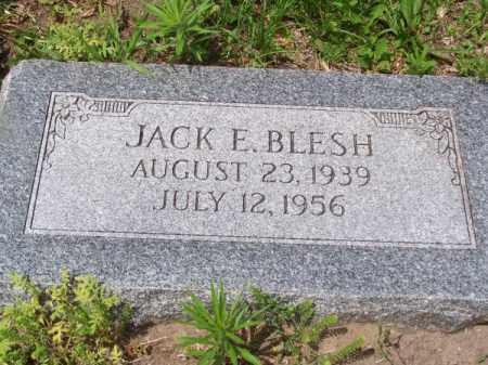 BLESH, JACK E. - Brown County, Nebraska | JACK E. BLESH - Nebraska Gravestone Photos