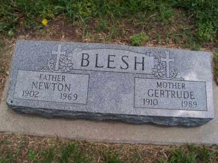 BLESH, GERTRUDE - Brown County, Nebraska | GERTRUDE BLESH - Nebraska Gravestone Photos