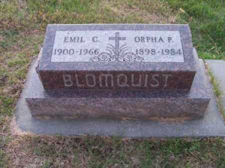 BLOOMQUIST, EMIL C. - Brown County, Nebraska   EMIL C. BLOOMQUIST - Nebraska Gravestone Photos