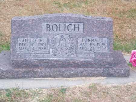 BOLICH, OTTO H. - Brown County, Nebraska   OTTO H. BOLICH - Nebraska Gravestone Photos