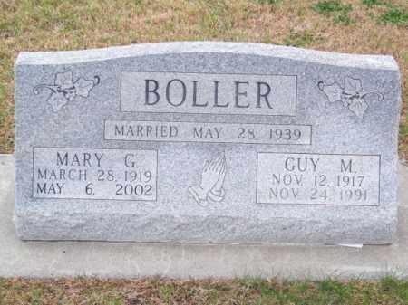 BOLLER, GUY M. - Brown County, Nebraska   GUY M. BOLLER - Nebraska Gravestone Photos