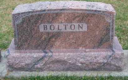 BOLTON, FAMILY - Brown County, Nebraska | FAMILY BOLTON - Nebraska Gravestone Photos