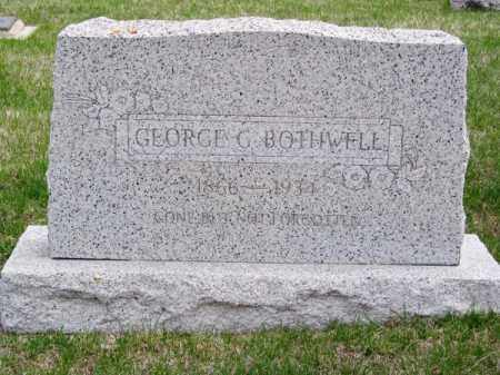 BOTHWELL, GEORGE G. - Brown County, Nebraska   GEORGE G. BOTHWELL - Nebraska Gravestone Photos