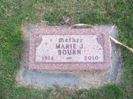 BOURN, MARIE J. - Brown County, Nebraska | MARIE J. BOURN - Nebraska Gravestone Photos