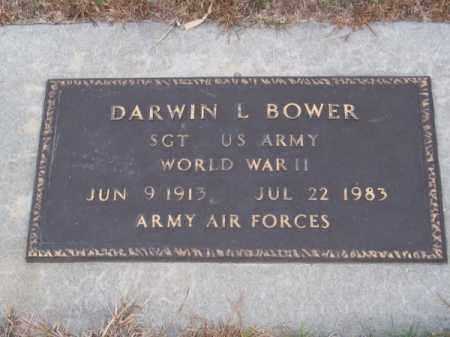 BOWER, DARWIN L. - Brown County, Nebraska | DARWIN L. BOWER - Nebraska Gravestone Photos