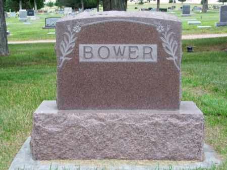 BOWER, FAMILY - Brown County, Nebraska | FAMILY BOWER - Nebraska Gravestone Photos