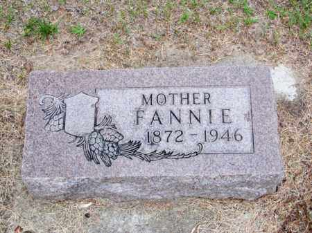 BOWER, FANNIE - Brown County, Nebraska | FANNIE BOWER - Nebraska Gravestone Photos