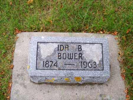 BOWER, IDA B. - Brown County, Nebraska | IDA B. BOWER - Nebraska Gravestone Photos