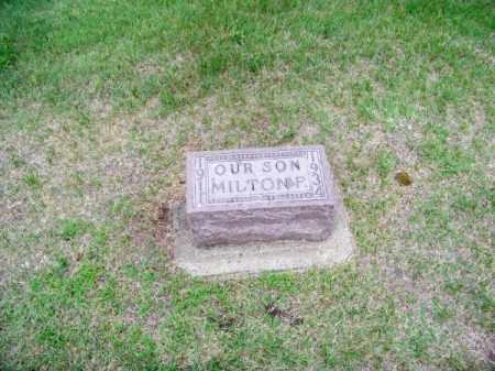 BOWER, MILTON - Brown County, Nebraska | MILTON BOWER - Nebraska Gravestone Photos