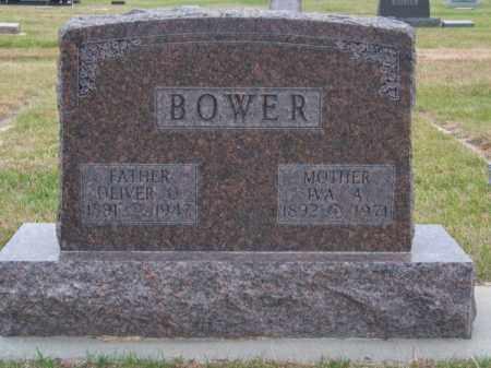 BOWER, OLIVER O - Brown County, Nebraska   OLIVER O BOWER - Nebraska Gravestone Photos