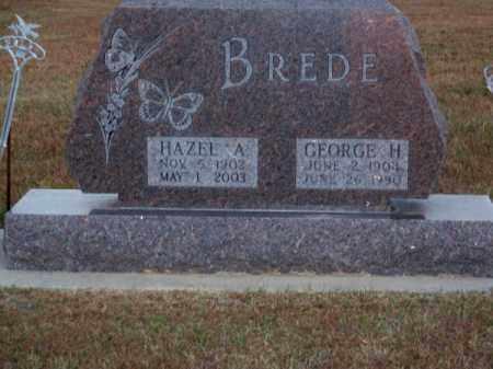 BREDE, GEORGE H. - Brown County, Nebraska | GEORGE H. BREDE - Nebraska Gravestone Photos