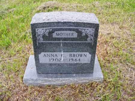 BROWN, ANNA C. - Brown County, Nebraska   ANNA C. BROWN - Nebraska Gravestone Photos