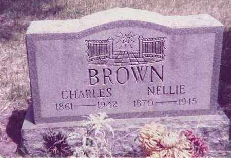 BROWN, NELLIE - Brown County, Nebraska | NELLIE BROWN - Nebraska Gravestone Photos