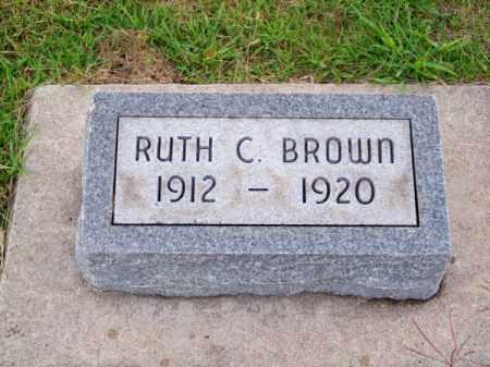 BROWN, RUTH C. - Brown County, Nebraska   RUTH C. BROWN - Nebraska Gravestone Photos