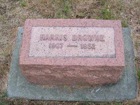 BROWNE, HARRIS - Brown County, Nebraska | HARRIS BROWNE - Nebraska Gravestone Photos