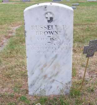 BROWNE, RUSSELL P. - Brown County, Nebraska | RUSSELL P. BROWNE - Nebraska Gravestone Photos