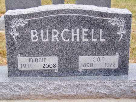 BURCHELL, MINNIE - Brown County, Nebraska | MINNIE BURCHELL - Nebraska Gravestone Photos