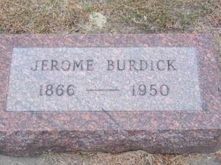 BURDICK, JEROME - Brown County, Nebraska | JEROME BURDICK - Nebraska Gravestone Photos