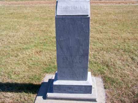 MCCLEAN BURLEY, EDITH E. - Brown County, Nebraska | EDITH E. MCCLEAN BURLEY - Nebraska Gravestone Photos