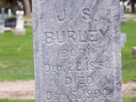 BURLEY, J. S. - Brown County, Nebraska | J. S. BURLEY - Nebraska Gravestone Photos