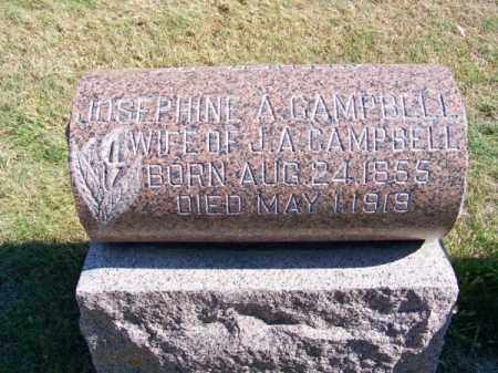 CAMPBELL, JOSEPHINE A. - Brown County, Nebraska | JOSEPHINE A. CAMPBELL - Nebraska Gravestone Photos