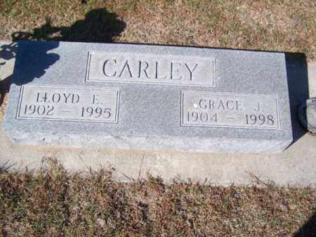 CARLEY, LLOYD E. - Brown County, Nebraska | LLOYD E. CARLEY - Nebraska Gravestone Photos