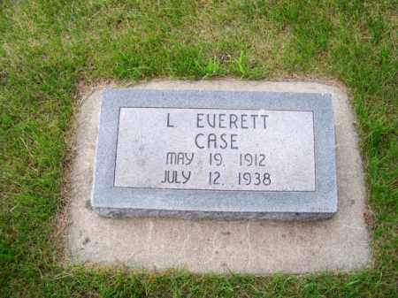 CASE, L. EVERETT - Brown County, Nebraska   L. EVERETT CASE - Nebraska Gravestone Photos