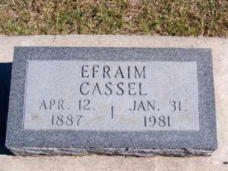 CASSEL, EFRAIM - Brown County, Nebraska | EFRAIM CASSEL - Nebraska Gravestone Photos