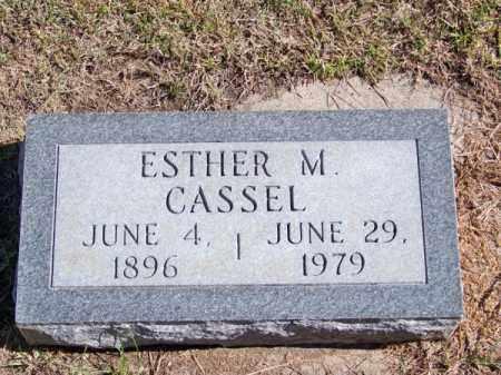 CASSEL, ESTHER M. - Brown County, Nebraska | ESTHER M. CASSEL - Nebraska Gravestone Photos