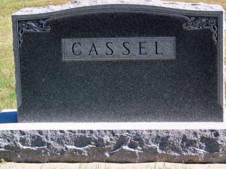 CASSEL, FAMILY - Brown County, Nebraska | FAMILY CASSEL - Nebraska Gravestone Photos