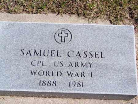 CASSEL, SAMUEL - Brown County, Nebraska | SAMUEL CASSEL - Nebraska Gravestone Photos